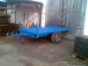 Brzděný přívěs, hydraulicky sklápěný